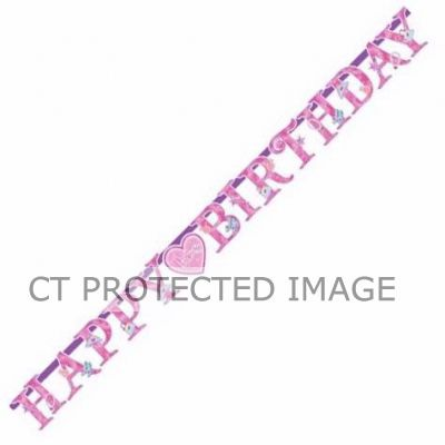 Princess Birthday Letter Banner