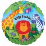 Wild Kingdom Birthday 18 Inch Foil Balloon