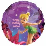Tinkerbell Birthday 18 Inch Foil Balloon
