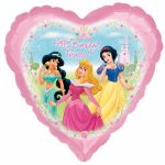 Princess Garden 18 Inch Foil Balloon