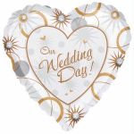Our Wedding Day 18 Inch Foil Balloon