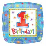 One-derful Birthday Boy 18 Inch Foil Balloon