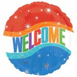 Warm Welcome 18 Inch Foil Balloon