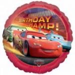 Cars Birthday 18 Inch Foil Balloon