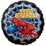 Spiderman Birthday 18 Inch Foil Balloon