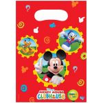 Mickey Club House Party Bags (pack quantity 6)