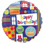 Birthday Collage 18 Inch Foil Balloon