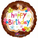 Totally Cool Birthday 18 Inch Foil