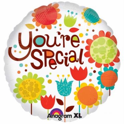 Flowers You're Special 18 Inch Foil