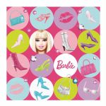 Barbie 33cm Napkins (pack quantity 16)