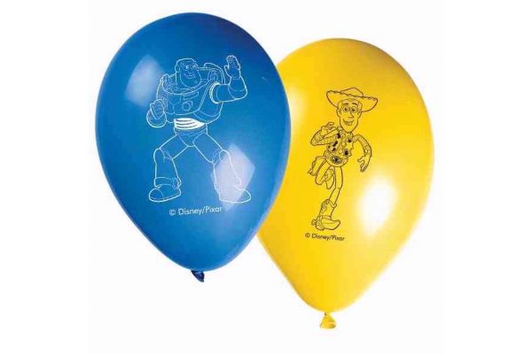  Toy Story 3 11 Inch Latex Balloons (pack&nbsp;quantity&nbsp;8) 