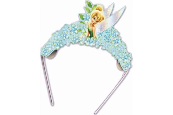  Tinkerbell Tiaras (pack&nbsp;quantity&nbsp;6) 