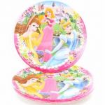  Disney Princess 23cm Plates (pack&nbsp;quantity&nbsp;10) 