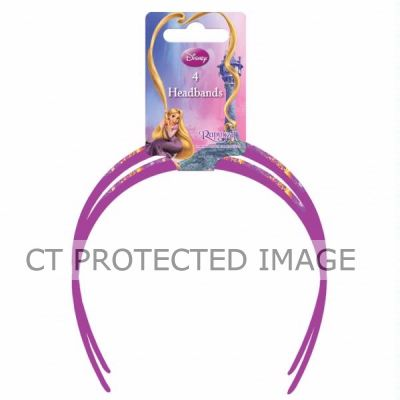  Disney Tangled Headbands (pack&nbsp;quantity&nbsp;4) 
