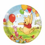  Winnie & Piglet 23cm Plates (pack&nbsp;quantity&nbsp;10) 