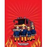 Fireman Sam Plastic Tablecover