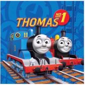  Thomas Tank 33cm Napkins (pack&nbsp;quantity&nbsp;16) 