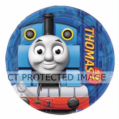  Thomas Tank 23cm Plates (pack&nbsp;quantity&nbsp;8) 