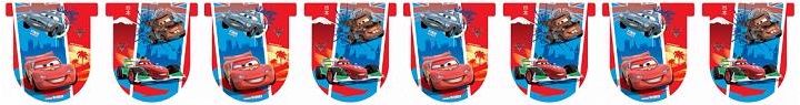 Disney Cars Pennant Banner