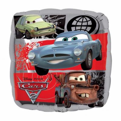 Cars 2 18 Inch Foil Balloon