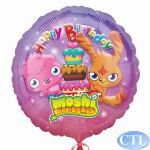 Moshi Monsters Birthday 18 Inch Foil