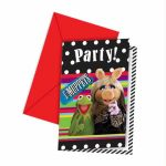 Muppets Invitations (pack quantity 6)