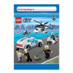 Folded Lego City Loot Bags (pack quantity 8)