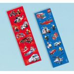 Lego City Sticker Strips (pack quantity 8)