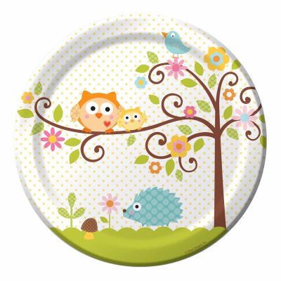 Happi Tree Dinner Plates (pack quantity 8)