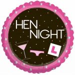 Girls Night Out Hen Night 18 Inch Foil Balloon