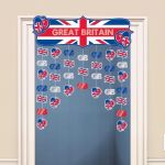 Great Britain Icon Door Curtain