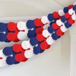 Red/white/blue Paper Garland