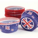 Great Britain Cup Cake Cases (pack quantity 50)