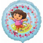 Dora Happy Birthday 18 Inch Foil