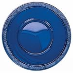 355ml Navy Blue Plastic Bowls (pack quantity 20)
