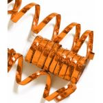 Orange Holographic Serpentines (pack quantity 10)