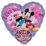 Minnie & Mickey Love Super Shaped Foil Balloon Balloon