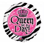 Queen For A Day 18 Inch Foil Balloon