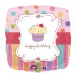 Sweet Stuff Cupcake 18 Inch Foil Balloon