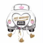 Just Married Car Super Shaped Foil Balloon Balloon