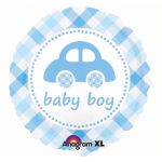 Baby Boy Car 18 Inch Foil Balloon
