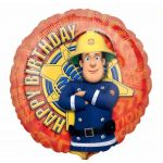 Fire Sam Birthday 18 Inch Foil Balloon