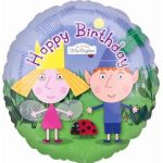 Ben & Holly Birthday 18 Inch Foil Balloon