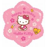 Hello Kitty Birthday 18 Inch Foil Balloon
