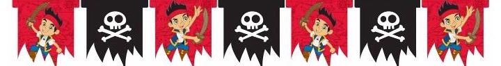 Jake & Pirates Die-cut Banner
