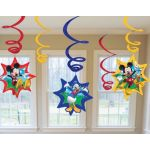  Mickey Hanging Swirls (pack&nbsp;quantity&nbsp;6) 