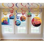 Cars Hanging Swirls (pack quantity 6)