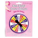 Hen Night Dares Badge