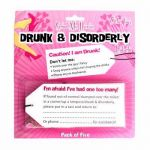 Drunk & Disorderly Labels