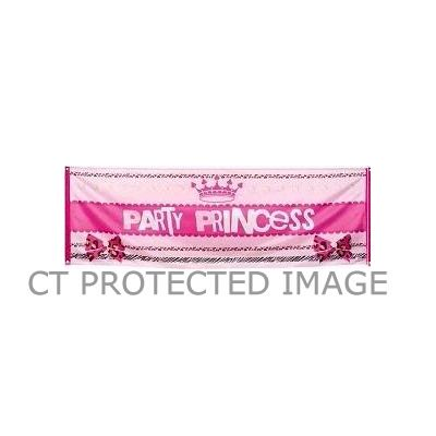 74x220cm Party Princess Banner